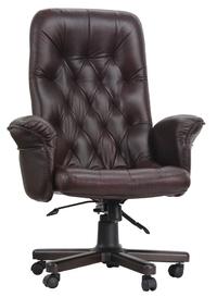 Кожаное кресло руководителя Премьер Леон