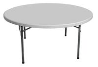 Круглый складной стол 160
